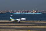 だだちゃ豆さんが、羽田空港で撮影したAIR DO 737-781の航空フォト(写真)