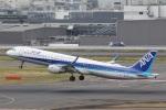 camelliaさんが、羽田空港で撮影した全日空 A321-211の航空フォト(写真)