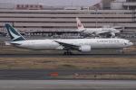 ぐっちーさんが、羽田空港で撮影したキャセイパシフィック航空 777-367/ERの航空フォト(写真)