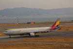 meijeanさんが、関西国際空港で撮影したアシアナ航空 A330-323Xの航空フォト(写真)
