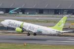 camelliaさんが、羽田空港で撮影したソラシド エア 737-86Nの航空フォト(写真)