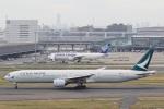camelliaさんが、羽田空港で撮影したキャセイパシフィック航空 777-367の航空フォト(写真)