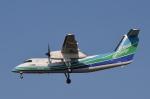 鉄バスさんが、福岡空港で撮影したオリエンタルエアブリッジ DHC-8-201Q Dash 8の航空フォト(写真)