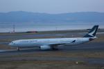 meijeanさんが、関西国際空港で撮影したキャセイパシフィック航空 A330-342の航空フォト(写真)