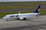 ハピネスさんが、中部国際空港で撮影したスカイマーク 737-8FHの航空フォト(写真)