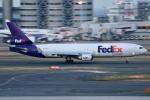 sky-spotterさんが、羽田空港で撮影したフェデックス・エクスプレス MD-11Fの航空フォト(写真)