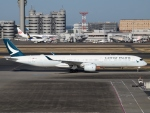 S51KAさんが、羽田空港で撮影したキャセイパシフィック航空 A350-1041の航空フォト(写真)