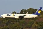 あしゅーさんが、福岡空港で撮影したスカイマーク 737-81Dの航空フォト(写真)