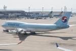 kuro2059さんが、中部国際空港で撮影した大韓航空 747-4B5の航空フォト(写真)