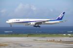 utarou on NRTさんが、那覇空港で撮影した全日空 777-381の航空フォト(写真)