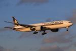やつはしさんが、成田国際空港で撮影したシンガポール航空 777-312/ERの航空フォト(写真)