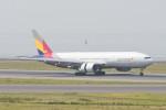 kuro2059さんが、中部国際空港で撮影したアシアナ航空 777-28E/ERの航空フォト(写真)