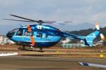 MOR1(新アカウント)さんが、名古屋飛行場で撮影した神奈川県警察 BK117C-2の航空フォト(写真)