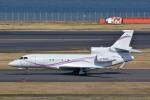 トロピカルさんが、羽田空港で撮影した不明 Falcon 7Xの航空フォト(写真)