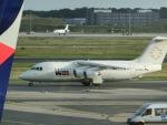 ヒロリンさんが、フランクフルト国際空港で撮影したWDLアヴィエーション BAe-146-200の航空フォト(写真)