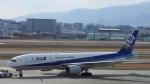 リンダさんが、伊丹空港で撮影した全日空 777-281/ERの航空フォト(写真)
