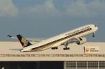 Espace77さんが、羽田空港で撮影したシンガポール航空 A350-941XWBの航空フォト(写真)