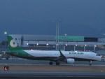 flyflygoさんが、熊本空港で撮影したエバー航空 A321-211の航空フォト(写真)