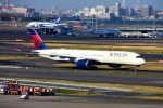 まいけるさんが、羽田空港で撮影したデルタ航空 A350-941XWBの航空フォト(写真)