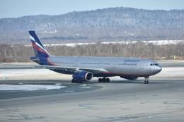 Reiji!さんが、ウラジオストク空港で撮影したアエロフロート・ロシア航空 A330-343Xの航空フォト(飛行機 写真・画像)