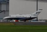 banshee02さんが、成田国際空港で撮影したバミューダ個人所有 Hawker 400XPの航空フォト(写真)