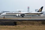 kan787allさんが、福岡空港で撮影したシンガポール航空 787-10の航空フォト(写真)
