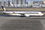 sky-spotterさんが、羽田空港で撮影したシンガポール航空 A350-941XWBの航空フォト(写真)