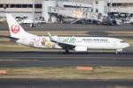sky-spotterさんが、羽田空港で撮影した日本航空 737-846の航空フォト(写真)