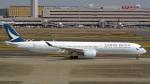 tkosadaさんが、羽田空港で撮影したキャセイパシフィック航空 A350-1041の航空フォト(写真)