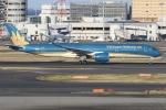 sky-spotterさんが、羽田空港で撮影したベトナム航空 A350-941XWBの航空フォト(写真)