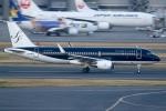 sky-spotterさんが、羽田空港で撮影したスターフライヤー A320-214の航空フォト(写真)