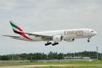 ちゃぽんさんが、成田国際空港で撮影したエミレーツ航空 777-F1Hの航空フォト(写真)