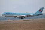 水月さんが、関西国際空港で撮影した大韓航空 747-4B5F/ER/SCDの航空フォト(写真)