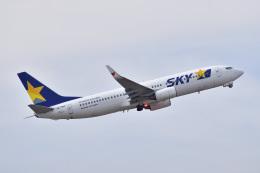 @たかひろさんが、中部国際空港で撮影したスカイマーク 737-86Nの航空フォト(飛行機 写真・画像)
