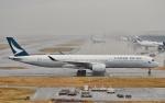 鉄バスさんが、関西国際空港で撮影したキャセイパシフィック航空 A350-1041の航空フォト(写真)