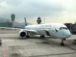 Lazonaさんが、香港国際空港で撮影したキャセイパシフィック航空 A350-1041の航空フォト(写真)