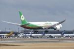 飛行機ゆうちゃんさんが、成田国際空港で撮影したエバー航空 787-9の航空フォト(写真)