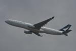 たっしーさんが、香港国際空港で撮影したキャセイパシフィック航空 A330-343Xの航空フォト(写真)