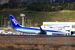 zero1さんが、八丈島空港で撮影した全日空 737-881の航空フォト(写真)