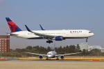 sumihan_2010さんが、成田国際空港で撮影したデルタ航空 767-3P6/ERの航空フォト(写真)