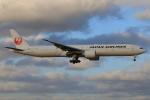 やつはしさんが、成田国際空港で撮影した日本航空 777-346/ERの航空フォト(写真)