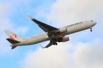 やつはしさんが、成田国際空港で撮影した日本航空 767-346/ERの航空フォト(写真)