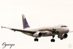 おがりょうさんが、鹿児島空港で撮影した香港エクスプレス A320-232の航空フォト(写真)