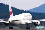 おがりょうさんが、鹿児島空港で撮影した日本航空 767-346の航空フォト(写真)