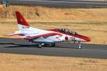 ふるちゃんさんが、入間飛行場で撮影した航空自衛隊 T-4の航空フォト(写真)