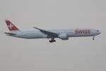 ぽんさんが、香港国際空港で撮影したスイスインターナショナルエアラインズ 777-3DE/ERの航空フォト(写真)