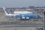 かずまっくすさんが、成田国際空港で撮影した全日空 A380-841の航空フォト(写真)