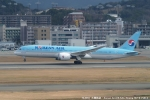 tabi0329さんが、福岡空港で撮影した大韓航空 787-9の航空フォト(写真)