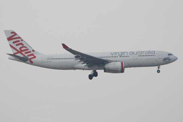 ヴァージン・オーストラリア Airbus A330-200 VH-XFE 香港国際空港  航空フォト   by ぽんさん