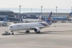 kuro2059さんが、中部国際空港で撮影したタイ国際航空 777-3D7の航空フォト(写真)